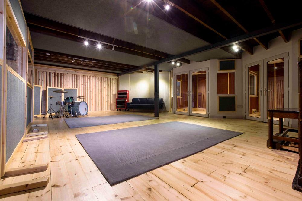 Loft Music Studios Live Room